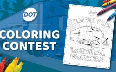Dot Foods Coloring Contest: Thank You, Essential Workers
