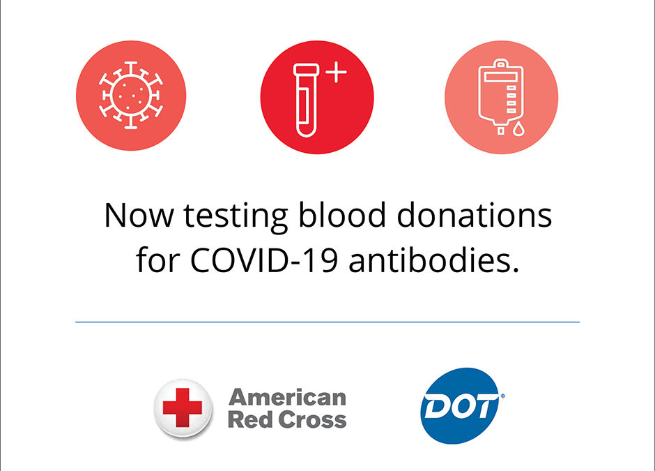 The Red Cross Now Offers COVID-19 Antibody Testing